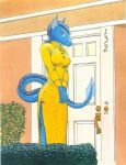 Dragon at the door by ardashir