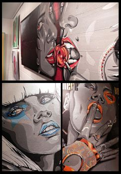 exposition Galerie 154 mars 2012 by midou313