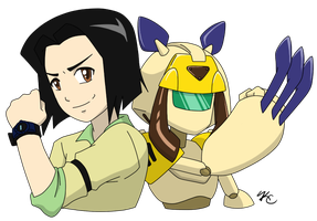 Koji and Sumilidon by Poefish