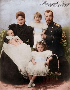 The Imperial Family, 1899 by LunaSLM77