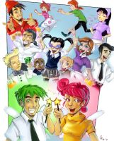 The Fairly Oddparents by JocelynAda
