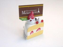 Decole Cake Slice Photo Holder by Meow-Box