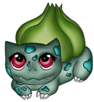 Bulbasaur by pamgomez