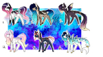 PONY AUCTION #22 (OPEN) by SilverFeather-Adopts