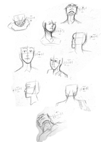 Head Perspective Practice by OhSynapse