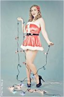 Stringing Lights by zairia