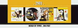 140509 2NE1 ICON SET by YUWEI2304