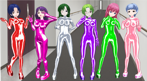 X-Change 2 and 3 Girls Bodysuits by quamp