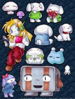 cave story fridge magnets by morningstar-