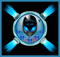 AlienSpaceOrb (Inspired by the logo of Mr Sam) by MrRearm