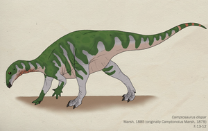 055--CAMPTOSAURUS DISPAR by Green-Mamba