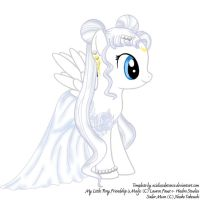 MLP Princess Serenity by sweetangelookami