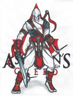 Assassin's Creed Ninja by Agent19XS