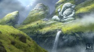 Mountain of lord Ganesha by Rupam999