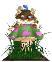 League of Chibis - Teemo by UkyoDragoon