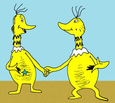 The Sneetches by Schulzfan