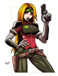 Scarlet - GIJoe Sigma Six - Commish by EryckWebbGraphics