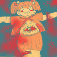 palette meme request-guro girl by X3carlyX3