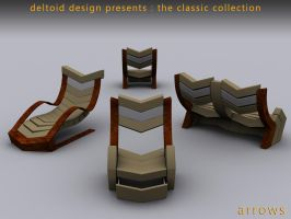 arrows furniture collection 1 by deltoiddesign