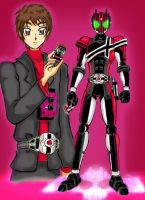 Kamen Rider Decade. by GrandZebulon