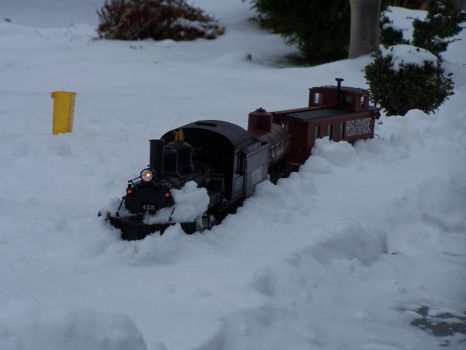 Plowing Snow on the Main by Darkriderexe