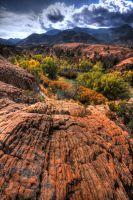 HDR valley overlook by mwill8886
