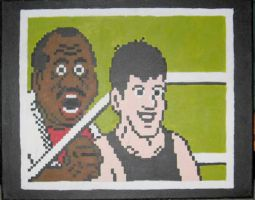 Little Mac And Doc by Squarepainter