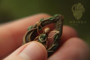 Tiny fairy from polymer clay by Krinna