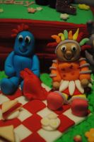Iggle piggle and upsy daisy by starry-design-studio