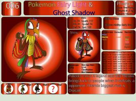 Pokemon Fairy Light and Ghost Shadow ''006'' by AndkeAnka