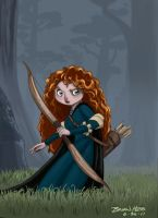 Princess Merida by Hesstoons