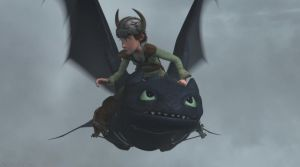 Gift Of The Night Fury - Hiccup + Toothless by DashieSparkle