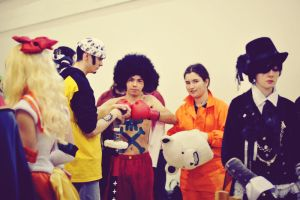 Grupo One Piece AFRO STYLE by lamuchan