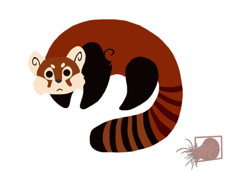 Red Panda by ThePhantomDragon