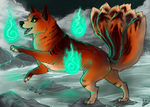 Lookie Fire BC Entry - Neopets by shattered-bones