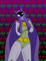 Just gone a little Batty by Aungshadow