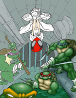 TMNT Spider Clan WIP by MOtero