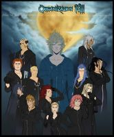 Organization XIII Collab by jaubrey
