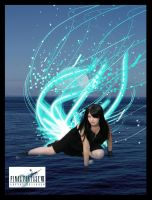 Tifa in the Lifestream by flames-of-monki