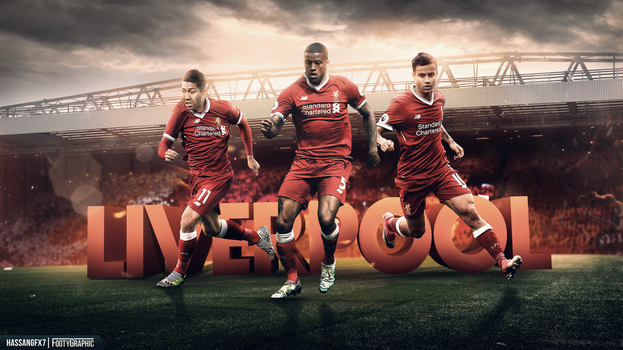 Liverpool FC Wallpaper (ft. FootyGraphic) by HassanGFX7