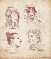 Naruto Cosplay Scribbles by Plazmakeks