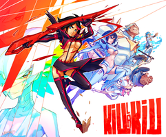 Kill la Kill by Tomycase