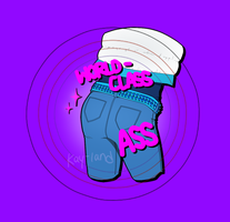 World-Class Ass Aoba Button by Kay-land