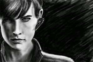 Agent Maria Hill - Part II by iamjamesporter