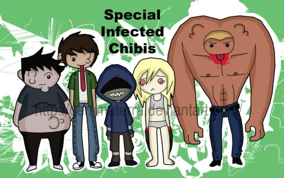 Special Infected Chibis by GemmaTerra