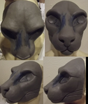 Big Cat sculpt by DreamVisionCreations