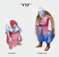 Viy Characters I by Bogamaz