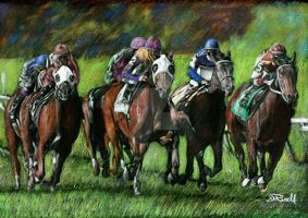 Final furlong by SRussellart