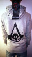 Hoodie Assassin's Creed Black Flag IV by AnaFSimao