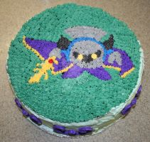 Meta Knight Cake, April 2008 by crafty-manx